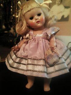 Vintage Vogue Ginny Doll 1950's All Original 'Cheryl' Dress