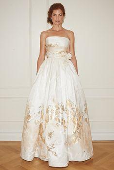 Brides.com: Randi Rahm - Fall 2014. Wedding dress by Randi Rahm #bridalmarketweek2014