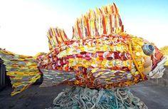 Ocean Litter Art