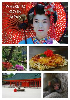 Photo Guide: Where to go in Japan