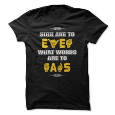 sign languge t shirt T Shirts, Hoodies. Get it here ==► https://www.sunfrog.com/LifeStyle/sign-languge-t-shirt.html?41382 $19