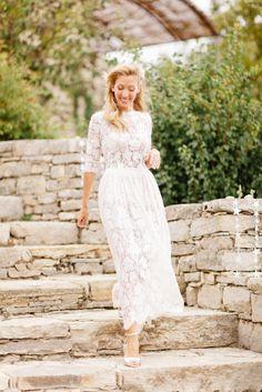 ... Mariage boheme a Opedette dans le Luberon - La mariee aux pieds nus