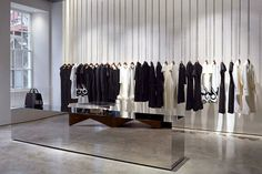 Victoria Beckham opens first store in Dover Street,Mayfair London by architect Farshid Moussavi, pinned by Ton van der Veer