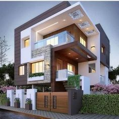 Top 10 cozy houses in the Modern style House Designs Exterior Cozy houses modern. - Top 10 cozy houses in the Modern style House Designs Exterior Cozy houses modern style Top - Bungalow House Design, House Front Design, Architecture Résidentielle, Architecture Geometric, Amazing Architecture, Computer Architecture, Chinese Architecture, Commercial Architecture, Architecture Portfolio