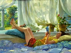 19+Hettinger,+David+(1946-...)+Summer+breeze.jpg 550×412 pixels
