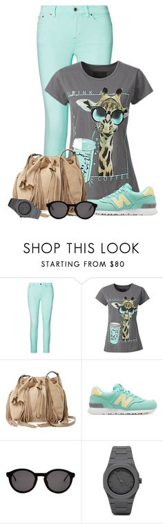 """""""Untitled #1979"""" by ebramos ❤ liked on Polyvore featuring Ralph Lauren, Diane Von Furstenberg, New Balance, Thierry Lasry and CC"""