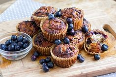 Paleo Blueberry Banana Muffins - Eat Drink Paleo