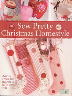 Cubra Sew bonita do Natal Homestyle