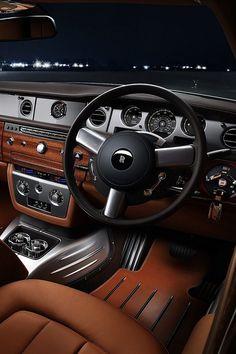 Rolls Royce interia