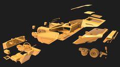 ArtStation - K's Spinner - Blade Runner 2049 Fan Art for Printing, Binh Le Blade Runner 2049, Runes, Spin, 3d Printing, Vehicle, Fan Art, Artwork, Movies, Movie Posters
