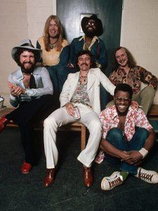 The Allman Brothers Band was formed in 1969 by brothers Duane Allman and Gregg Allman, Dickey Betts, Berry Oakley, Butch Trucks, and Jaimoe. Berry Oakley, Little Prayer, The Jam Band, Allman Brothers, We Will Rock You, Aretha Franklin, Rock Legends, Down South, Blues Rock