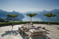 Villa Honegg, near Lucerne, Switzerland | more pics