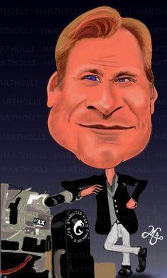 Christopher Nolan (caricatura/desenho e pintura   digital)