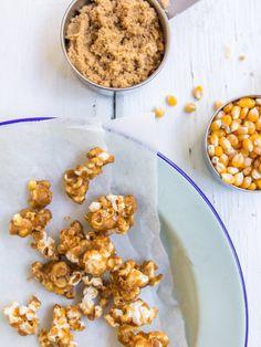 Salted Caramel Mousse with Caramel Popcorn