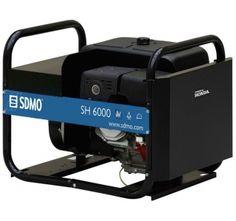 Groupe électrogène SDMO TECHNIC SH 6000 essence 230V 6kW Groupes, Tools, Instruments
