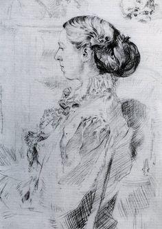 Augustus Edwin John : Gwen John
