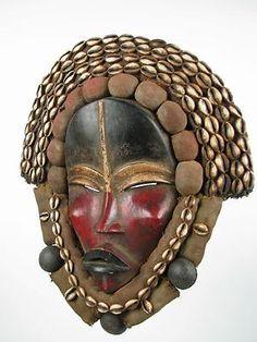 Liberia Dan mask (Gotham Gallery of African Art)