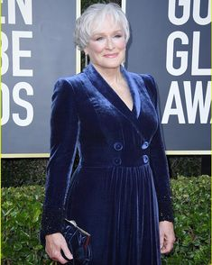 Glenn Close & Annette Bening Glam Up For Golden Globes Photo Glenn Close stuns in a royal blue dress while arriving at the 2020 Golden Globe Awards on Sunday (January at the Beverly Hilton Hotel in Beverly Hills, Calif. Glenn Close, Golden Globe Award, Golden Globes, The Beverly, Beverly Hilton, Just Jared Jr, Velvet Gown, Gwyneth Paltrow, Charlize Theron