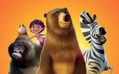 Download wallpapers Animal Crackers, 2017, poster, all characters, cartoons about animals
