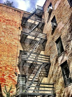 Fire Escapes, The Meatpacking District, Manhattan, New York