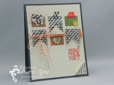 Hearts a flutter, this and that, Stampin'UP!, création de carte