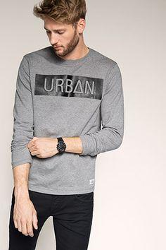 edc - Print-Sweater aus 100% Baumwolle im Online Shop kaufen