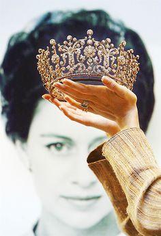 Princess Margaret's Poltimore Tiara on auction in 2006.