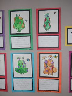 Mrs. T's First Grade Class: Frog Cinquain Poems