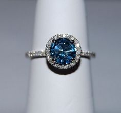 Ok. NOT posting this as an engagement ring.  Sapphire is my birth stone, and this is gorgeous!!