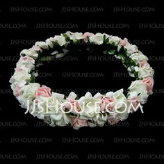 Headpieces - $4.99 - Paper Flower Wedding Flower Girl Headpiece (042025211) http://jjshouse.com/Paper-Flower-Wedding-Flower-Girl-Headpiece-042025211-g25211