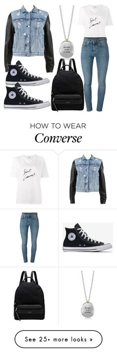 """the basics"" by hummeldumm on Polyvore featuring Yves Saint Laurent, rag & bone, Bjørg and Radley"