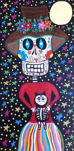 Check out this item in my Etsy shop https://www.etsy.com/listing/275055646/kerri-ambrosino-art-print-mexican-folk
