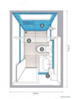 Small Bathroom Layout, Small Bathroom Storage, Bathroom Closet, Upstairs Bathrooms, Bathroom Toilets, Serene Bathroom, Bathroom Organization, Small Bathrooms, Master Bathrooms