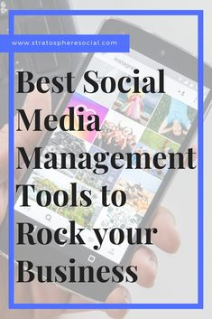 The Best social media management tools for busy entrepreneurs and businesses.  It can be hard to manage all of your social media on top of your own business so here are some tips and tools to help you manage like a pro. #socialmediamarketing #businesstips