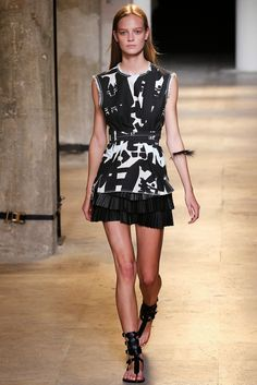 Serendipitylands: FASHION WEEK PARIS SPRING 2015 - ISABEL MARANT