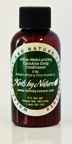 Koils by Nature - Ultra-Moisturizing CocoAloe Deep Conditioner, $5.00 (http://www.koilsbynature.com/) - got this in my Jan 2013 Curlkit box, can't wait to try this