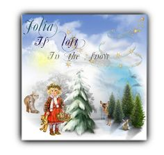 """""""Jolia is lost in the snow book cover"""" by oneatwphogeebaby on Polyvore featuring art"""