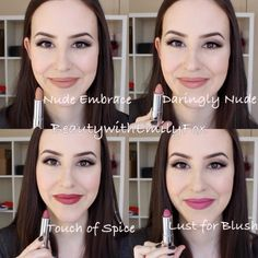 New lip swatch video about the Maybelline Creamy Matte lipsticks! The Maybelline Creamy Matte lipsticks are some of the best matte lipsticks at the drugstore. Lipstick For Fair Skin, Lipstick Art, Lipstick Colors, Maybelline Creamy Matte Lipstick, Matte Lipsticks, Makeup Swatches, Drugstore Makeup, Mac Lipstick Swatches, Flawless Makeup