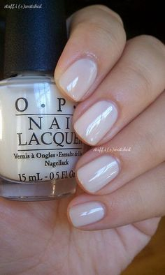 Having short nails is extremely practical. The problem is so many nail art and manicure designs that you'll find online Cute Nails, Pretty Nails, Opi Nails, Manicures, Nail Polishes, Neutral Nails, Colorful Nail Designs, Nail Polish Colors, White Nail Polish