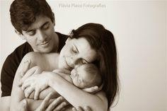 Newborn, família, foto de Flávia Piassi Fotografia