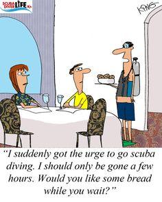 22 best scuba diving cartoons images on pinterest scuba diving