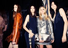 Roberto Cavalli Spring 2015 RTW - Backstage — Vogue