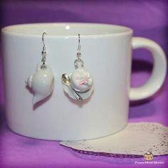Cute earrings handmade  *-* Follow *Dream World Kawaii* on facebook