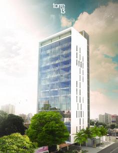 North facade T13. MAT-Latinamerica