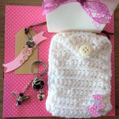 HOPE-bustina-uncinetto-bianco-cagnolino-rosa-portachiavi-ANGEL-Hand-Made-cod14