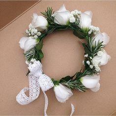 Childs headband #circlet #florist #cutecutecute #BouquetsByKendall