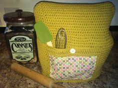 This listing is for a Pattern to make a Crochet Stand Mixer Cover. 2 Patterns are included. Patterns will fit The Classic, Artisan and Pro KitchenAid