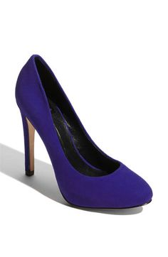 keep off my blue suede shoes!