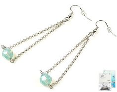 DoubleBeads Mini Jewelry Kit earrings ± 7,5cm with SWAROVSKI ELEMENTS beads and various accessories (such as metal accessories)