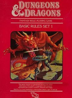 How many gamers can claim this one: this one got added to my collection when I got married. It's my wife's copy of the Dungeons and Dragons Red Box Rules